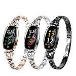 دستبند هوشمند و مچبند زنانه لاکچری مدل Bakeey H8