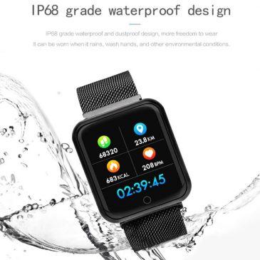 مچ بند و دستبند هوشمند سلامت مدل P70 smart watch