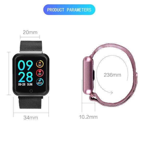مچ بند و دستبند هوشمند سلامت مدل P70 Pro smart watch