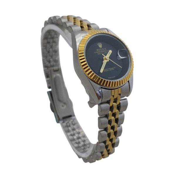 ساعت مچی عقربهای زنانه رولکس تک موتوره Rolex کد 110