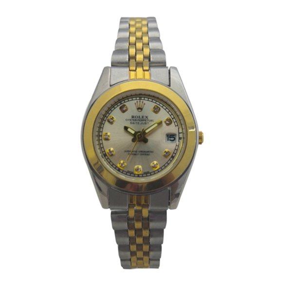 ساعت مچی عقربهای زنانه رولکس تک موتوره Rolex کد 456