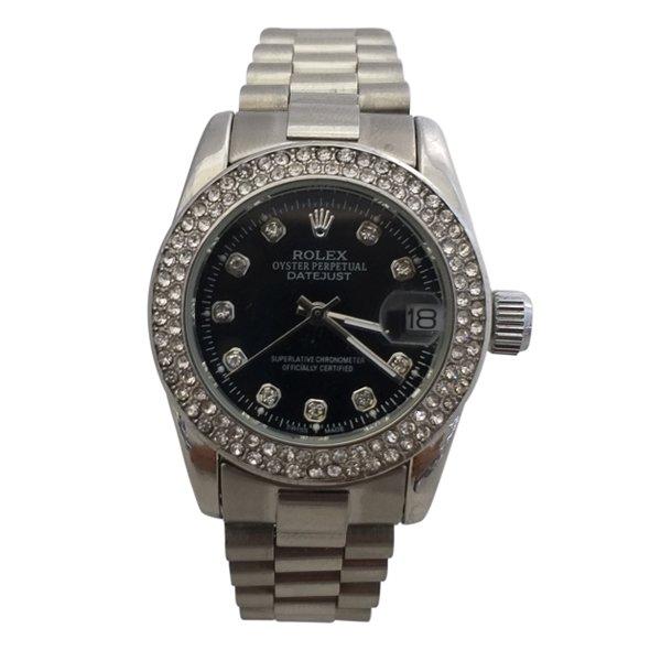 ساعت مچی عقربهای زنانه رولکس تک موتوره Rolex کد 67