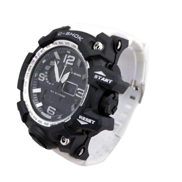 ساعت مچی عقربهای دیجیتال مردانه جی شاک G-Shock کد 704