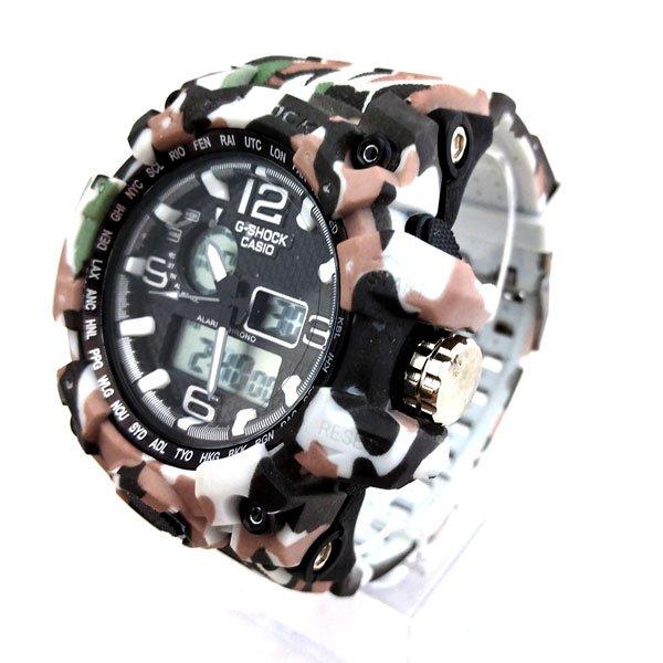ساعت مچی عقربهای دیجیتال مردانه جی شاک G-Shock کد 706