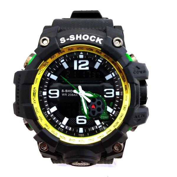 ساعت مچی عقربهای دیجیتال مردانه جی شاک G-Shock کد 713