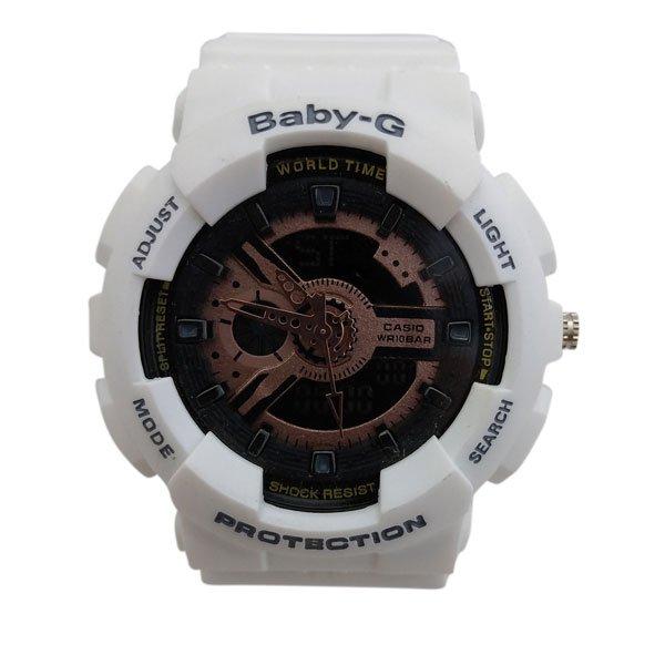 ساعت مچی عقربهای دیجیتال زنانه جی شاک G-Shock کد 722