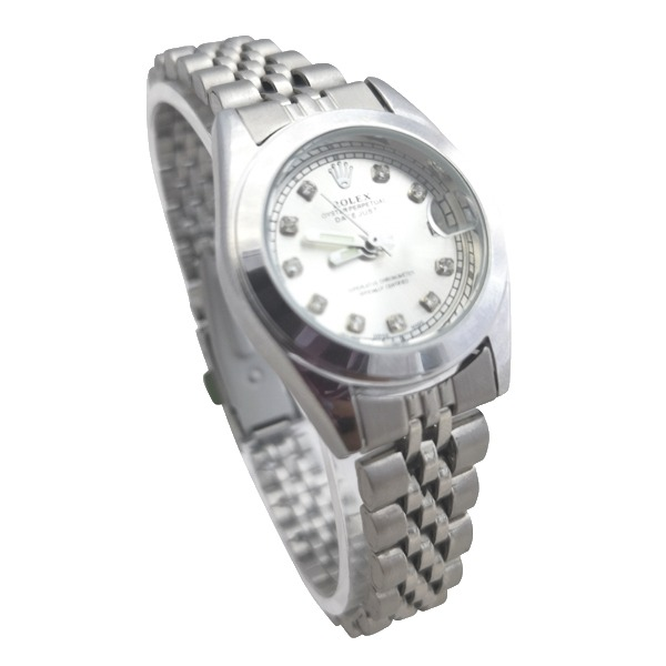 ساعت مچی عقربهای زنانه رولکس تک موتوره Rolex کد 80