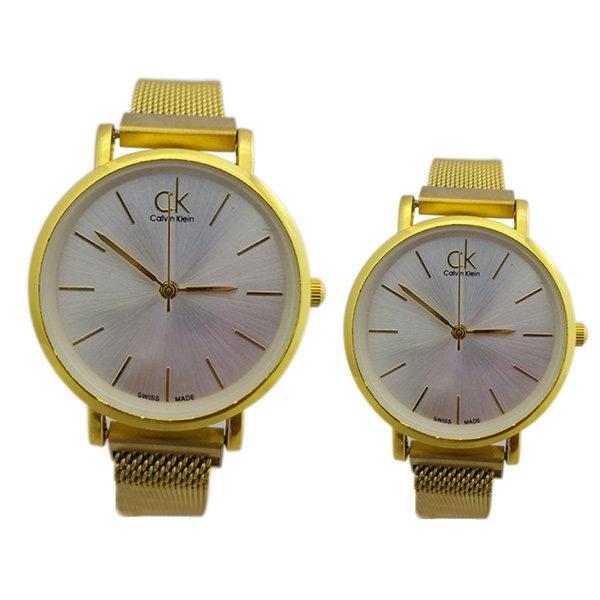 ست ساعت مچی مردانه و زنانه کلوین کلین Calvin Klein کد 925-928