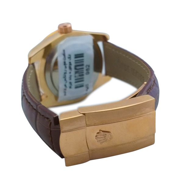 ساعت مچی عقربهای مردانه تک موتوره رولکس Rolex کد 982