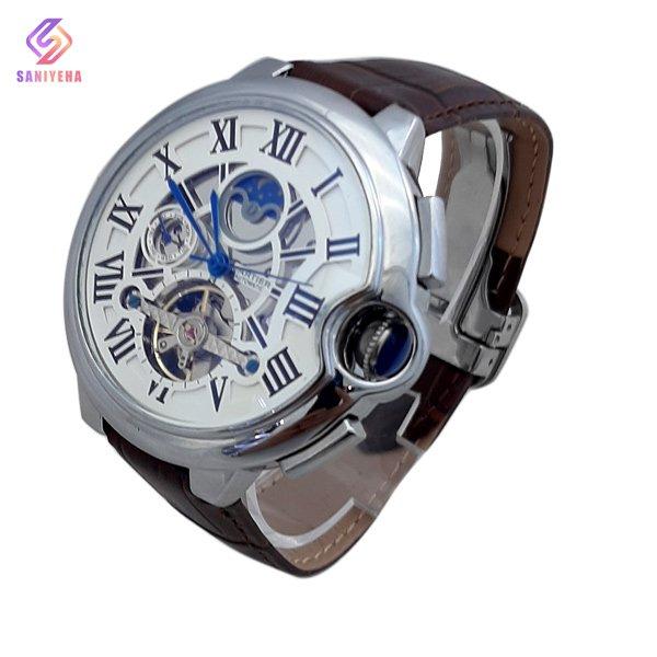 ساعت مچی اتوماتیک مردانه کارتیر Cartier کد 1545، ساعت مچی چرمی ، ساعت مچی های کپی ، ساعت مچی زنانه ، ساعت مچی ارزان ، ساعت مچی در دیجی کالا ، ساعت با کیفیت بالا ، ساعت مچی برند
