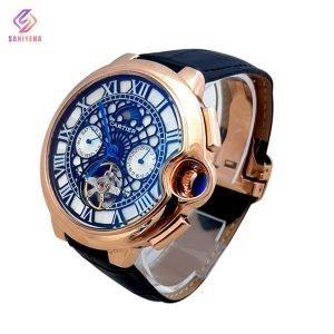 ساعت مچی اتوماتیک مردانه کارتیر Cartier کد 1548، ساعت مچی چرمی ، ساعت مچی های کپی ، ساعت مچی زنانه ، ساعت مچی ارزان ، ساعت مچی در دیجی کالا ، ساعت با کیفیت بالا ، ساعت مچی برند