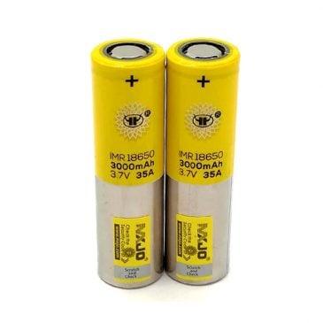 باتری ویپ قلمی مکس جو 18650 3000mAh مدل MXJO Battery