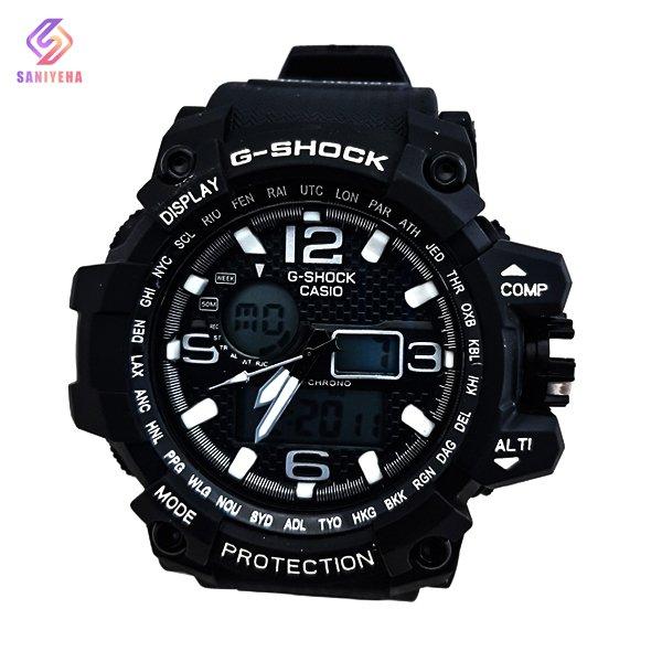 ساعت مچی عقربهای دیجیتال مردانه جی شاک G-Shock کد 1694