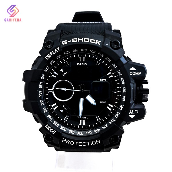 ساعت مچی عقربهای دیجیتال مردانه جی شاک G-Shock کد 1695