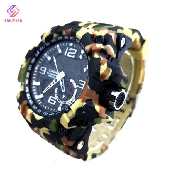 ساعت مچی عقربهای دیجیتال مردانه جی شاک G-Shock کد 1697