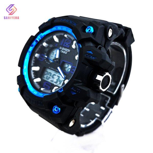 ساعت مچی عقربهای دیجیتال مردانه جی شاک G-Shock کد 1698