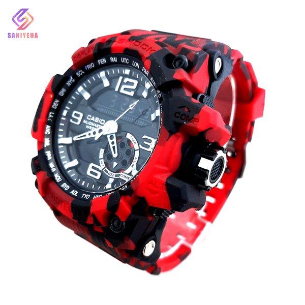ساعت مچی عقربهای دیجیتال مردانه جی شاک G-Shock کد 1700