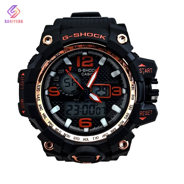 ساعت مچی عقربهای دیجیتال مردانه جی شاک G-Shock کد 1701