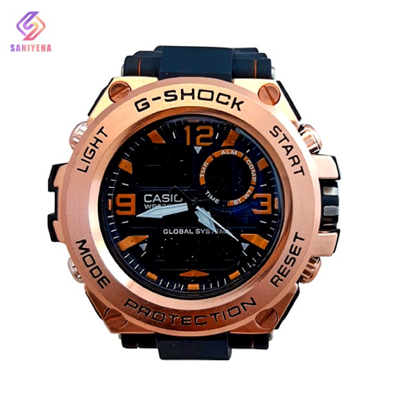 ساعت مچی عقربهای دیجیتال مردانه جی شاک G-Shock کد 1702