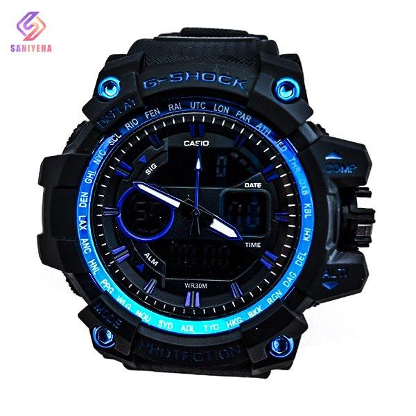 ساعت مچی عقربهای دیجیتال مردانه جی شاک G-Shock کد 1703