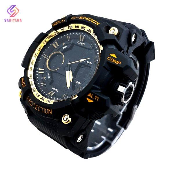 ساعت مچی عقربهای دیجیتال مردانه جی شاک G-Shock کد 1704