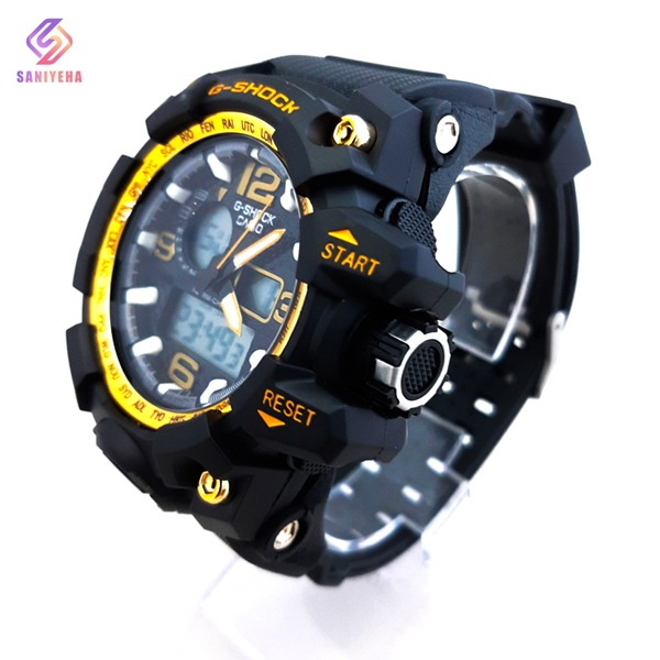 ساعت مچی عقربهای دیجیتال مردانه جی شاک G-Shock کد 1705