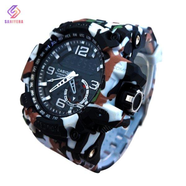 ساعت مچی عقربهای دیجیتال مردانه جی شاک G-Shock کد 1706