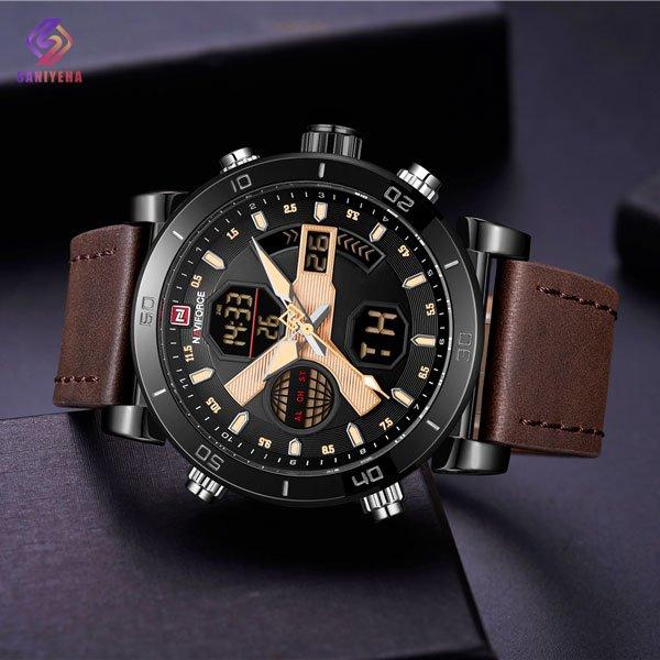 ساعت مچی عقربه ای مردانه ناوی فورس مدل NaviForce NF9132M BYD