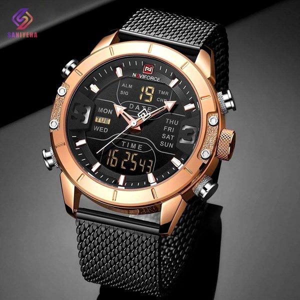 ساعت مچی مردانه ناوی فورس مدل NaviForce NF9153M RG B