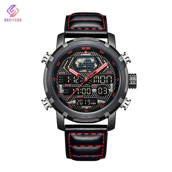 ساعت مچی عقربه ای مردانه ناوی فورس مدل NaviForce NF9160M BL-RD