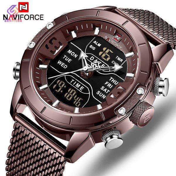 ساعت مچی عقربه ای مردانه ناوی فورس مدل NaviForce NF9153M B-B
