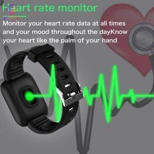 دستبند هوشمند مدل Smart bracelet 116 PLUS ، دستبند سلامتی 116 پلاس ، مچ بند سلامتی مدل 116 پلاس ، خرید دستبند هوشمند مدل Smart bracelet 116 PLUS دیجی کالا