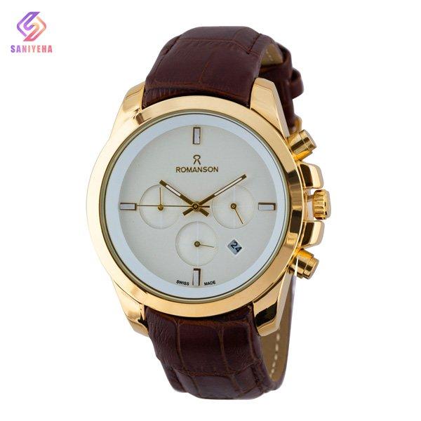 ساعت مچی عقربه ای مردانه رومانسون مدل RO01