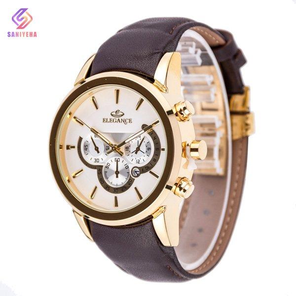 ساعت مچی عقربه ای مردانه الگانس مدل EL04