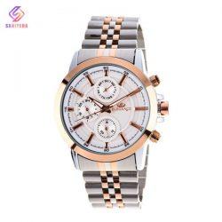 ساعت مچی عقربه ای زنانه الگانس مدل EL16 , ساعت زنانه , خرید ساعت مچی الگانس زنانه استیل سه موتوره در فروشگاه اینترنتی ثانیه ها