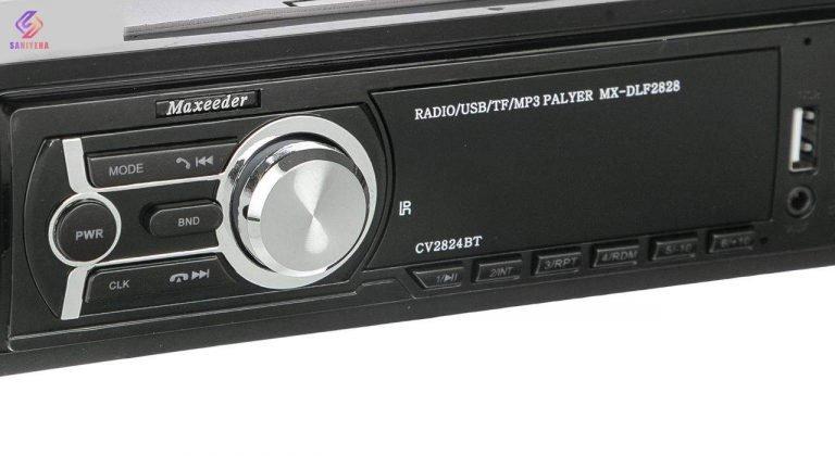 ضبط خودرو مکسیدر مدل CV2824BT