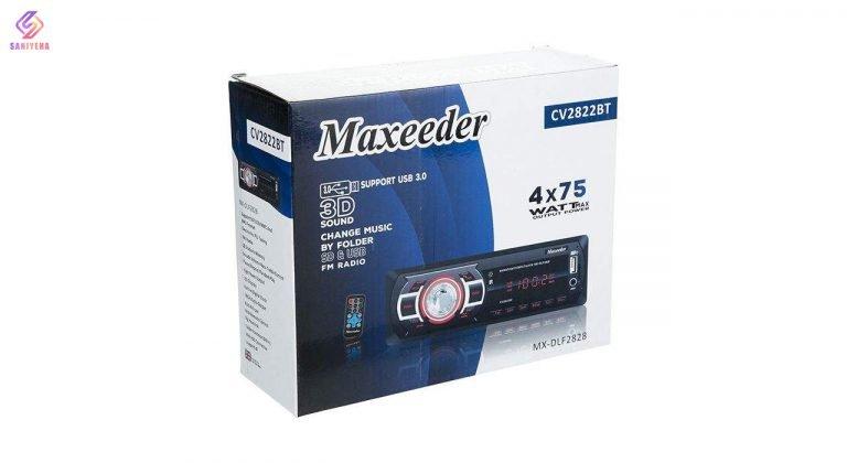 ضبط خودرو مکسیدر مدل cv2822bt