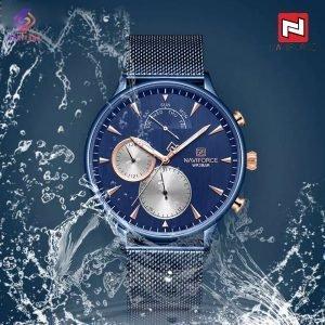 ساعت مچی عقربه ای مردانه نیوی فورس مدل NF3010 BE