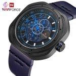 ساعت مچی عقربه ای مردانه نیوی فورس مدل NF9141 BBEBE