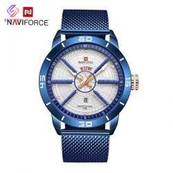 ساعت مچی عقربه ای مردانه نیوی فورس مدل NF9155 BE-W-BE