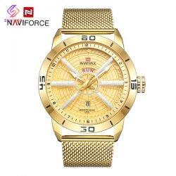 ساعت مچی عقربه ای مردانه نیوی فورس مدل NF9155 G-G-G