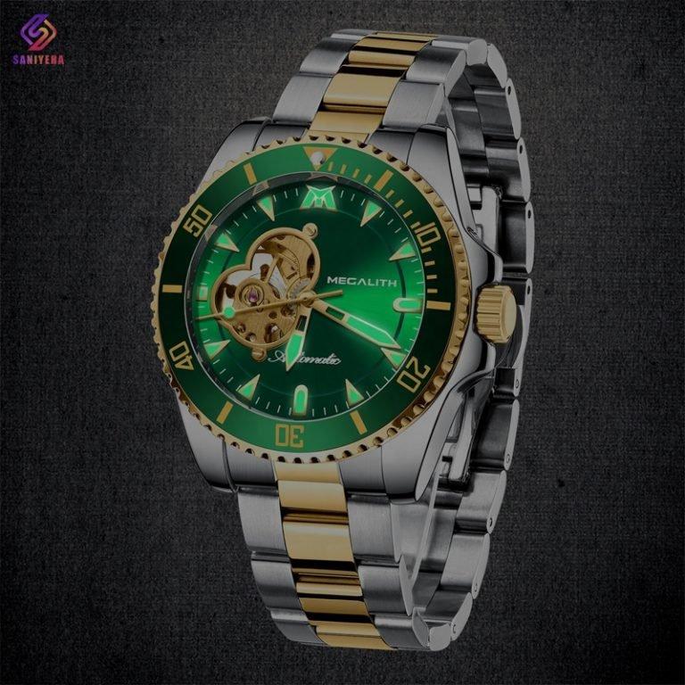 ساعت مچی اتوماتیک عقربه ای مردانه مگالیت مدل 8209-GR