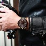 ساعت مچی عقربه ای مردانه مگالیت مدل 8201-br | Megalith Watch model 8201 Orginal