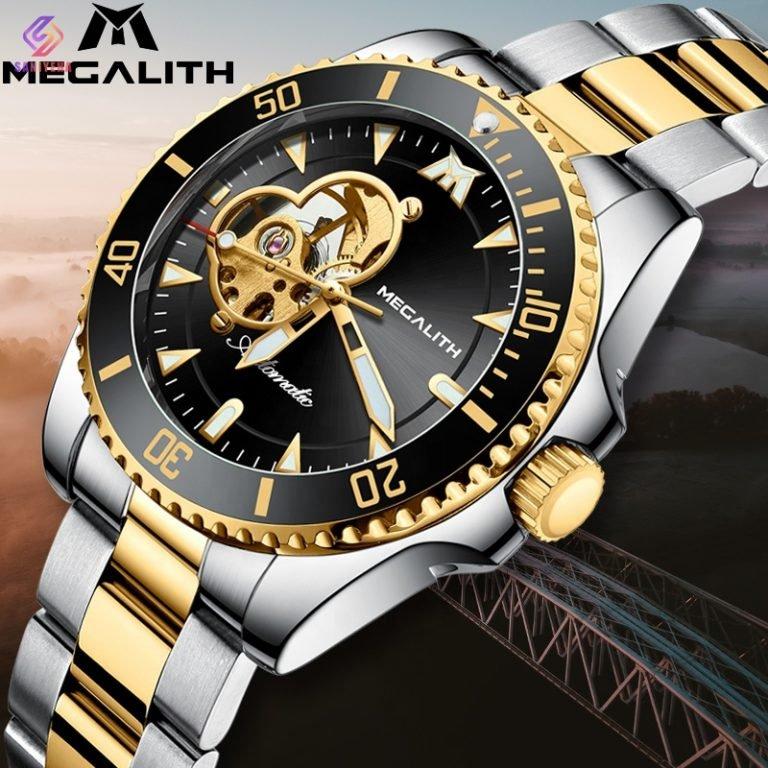 ساعت مچی اتوماتیک عقربه ای مردانه مگالیت مدل 8209-SG