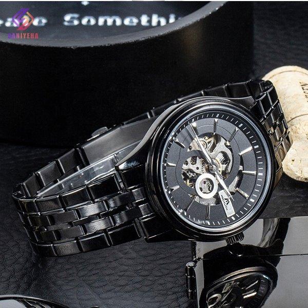 ساعت مچی اتوماتیک عقربه ای مگالیت مدل 8079-BLACK
