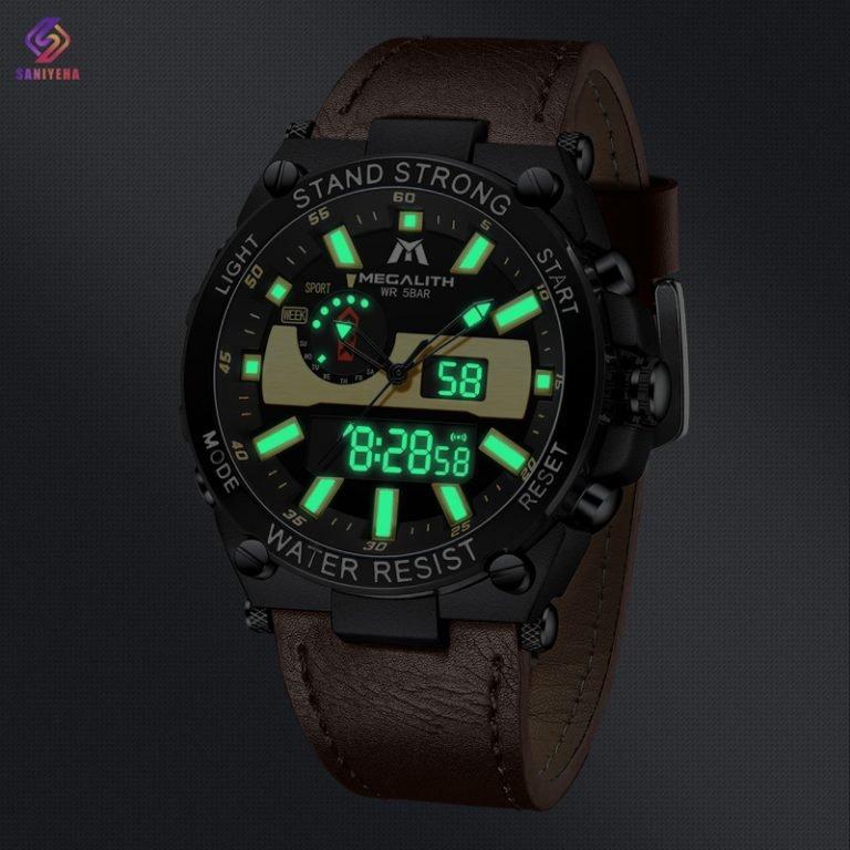 ساعت مچی عقربهای مردانه مگالیت مدل BLBW-8230
