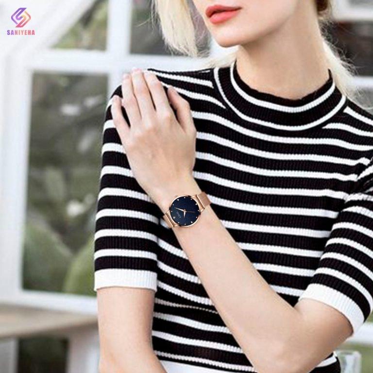 ساعت مچی عقربه ای زنانه سیوو مدل 8002-narg