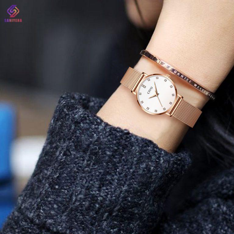 ساعت مچی عقربه ای زنانه سیوو مدل 8055-whrg