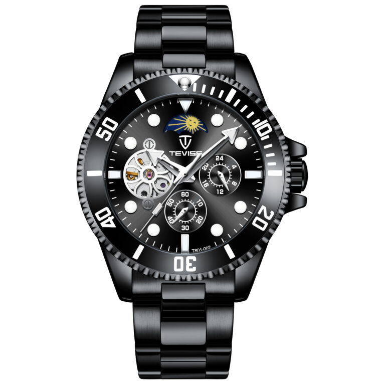 ساعت مچی اتوماتیک عقربه ای مردانه تویس مدل 801 – BLACK