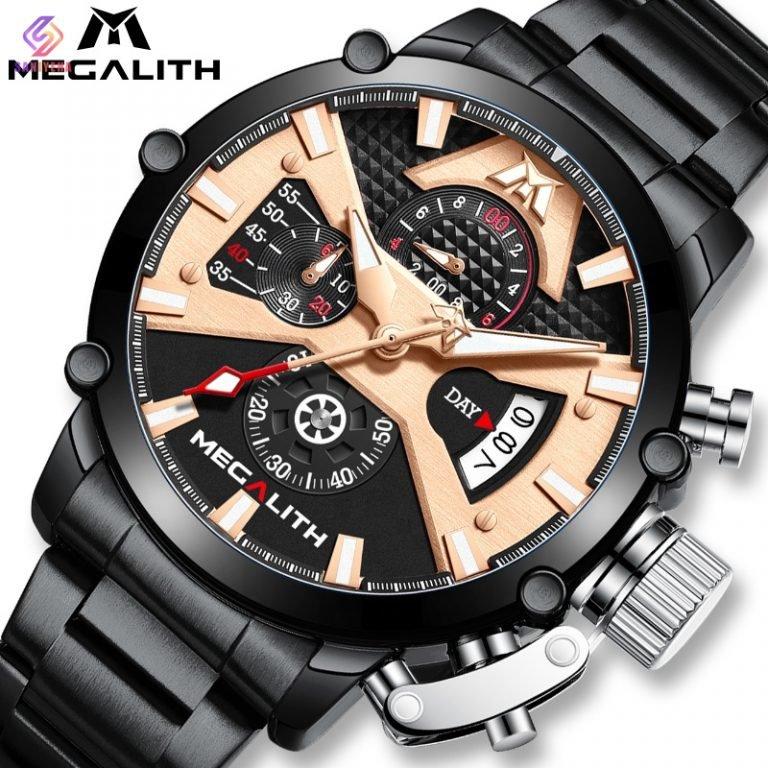 ساعت مچی عقربهای مردانه مگالیت مدل BLRG-8219